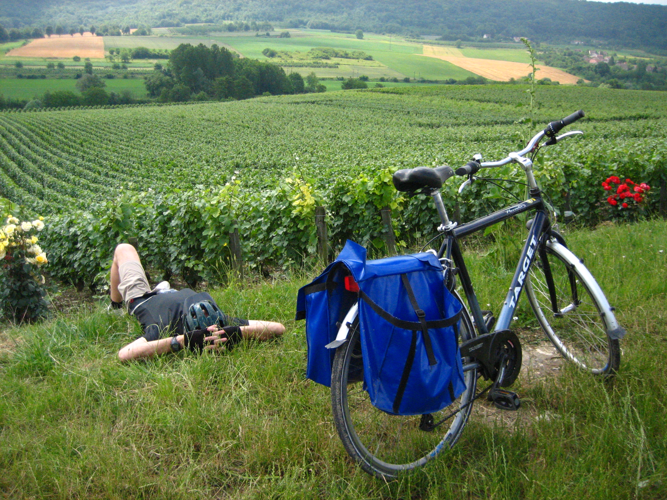 single traveler europe biketour