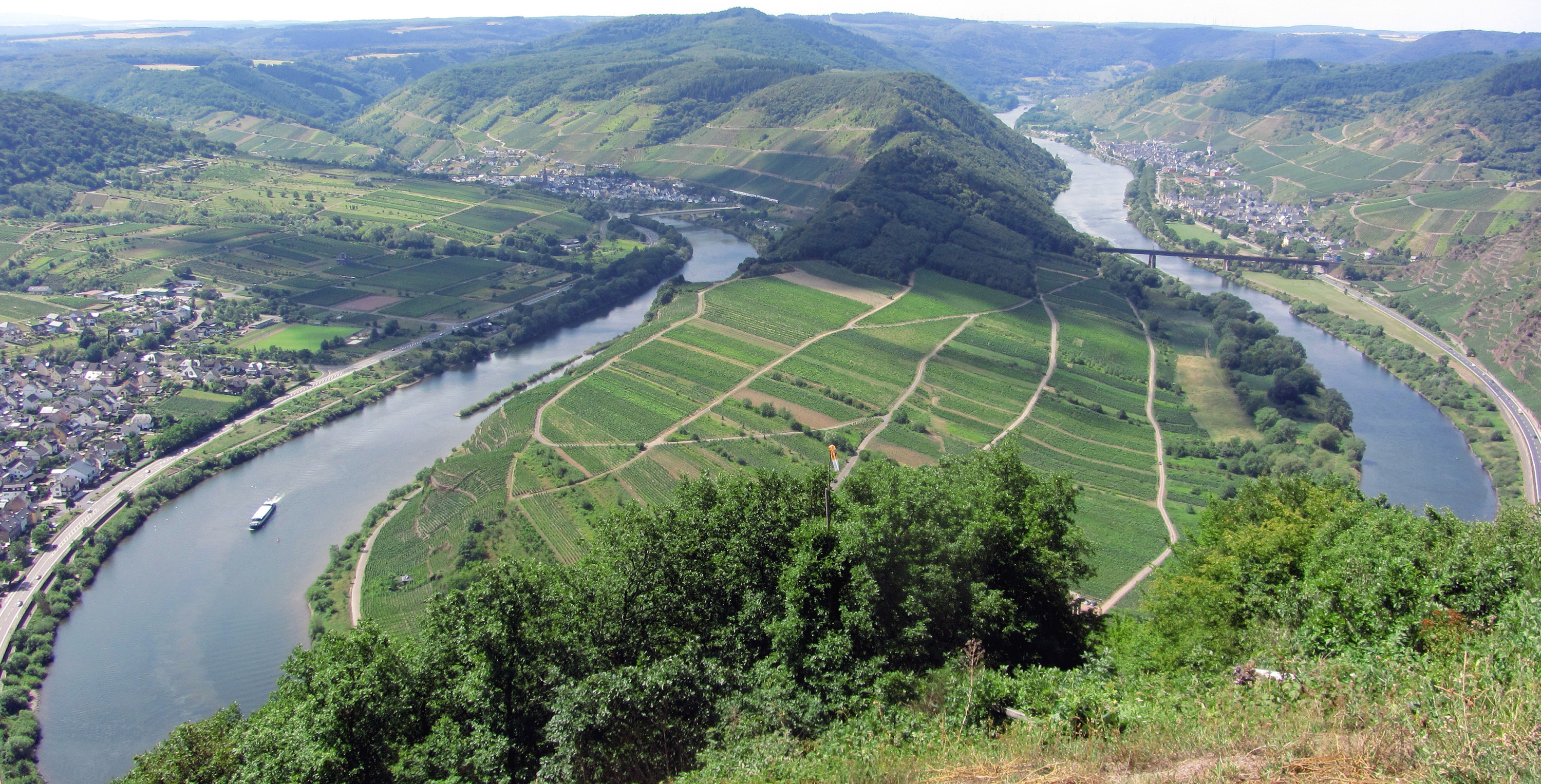 bike and barge in germany and france mosel