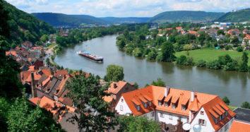 BIKE AND BARGE: Rhine&Main: Koblenz to Miltenberg